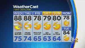New York Weather: CBS2 8/20 Evening Forecast at 5PM [Video]