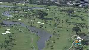 Melreese Country Club, Site Of Proposed Beckham Soccer Stadium, Temporarily Closed Due To Soil Concerns [Video]