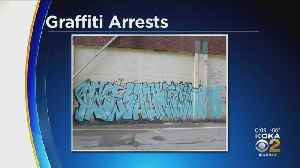 Police Arrest Suspects For Spraying Graffiti Outside Iron City Brewing Company [Video]