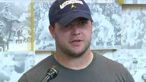 Michigan's Ben Bredeson, Carlo Kemp say team is more focused this year [Video]