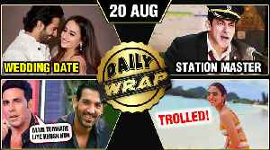 Salman Turns Station Master, Anushka Sharma TROLLED, Varun - Natsaha's Wedding Date | Top 10 News [Video]
