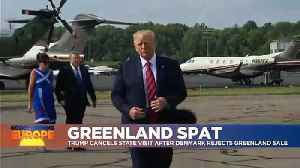 Trump cancels visit to Denmark over Greenland comments