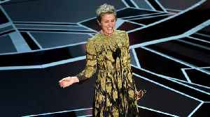 Charges dropped against Frances McDormand's Oscar thief [Video]