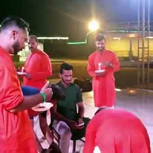 Pak's Hassan Ali weds Indian girl in Dubai [Video]