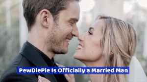 Pewdiepie Marries Marzia [Video]