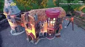 Design Magic! Massive Playhouse Is a Harry Potter Lover's Dream [Video]