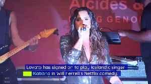 Demi Lovato Joins Cast of Netflix's 'Eurovision' [Video]