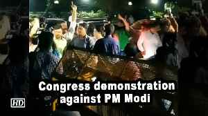 Congress workers protest against Prime Minister Narendra Modi [Video]