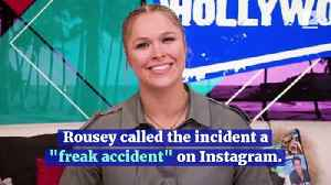 Ronda Rousey Nearly Loses Finger Filming TV Show [Video]