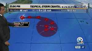 Tropical Storm Chantal forms over North Atlantic [Video]