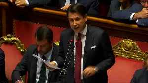 Italy's Conte makes an angry exit from his PM role [Video]