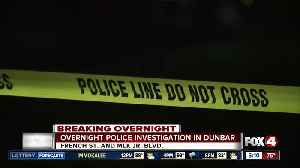 Large FMPD presence in Dunbar neighborhood [Video]