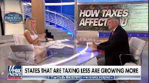 Stephen Moore discusses residents fleeing high-tax liberal states [Video]