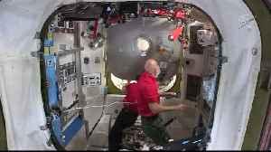 News video: NASA astronauts go for spacewalk outside ISS