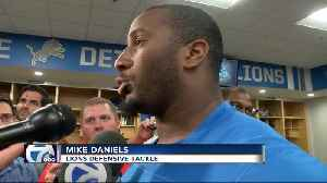 Mike Daniels says the Lions d-line is building chemistry [Video]