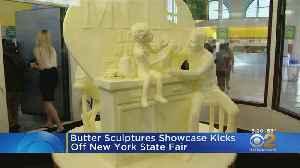 Butter Sculpture Showcase Kicks Off New York State Fair [Video]
