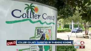 Cyber criminals scam $184,000 from Collier County in phishing scheme [Video]