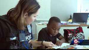 KCPD help mentor youth with Lead to Read program [Video]