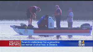 Crews Search For Possible Missing Swimmer In Dennis [Video]