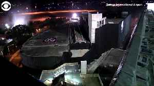 WEB EXTRA: Tampa Airport Garage Demolition [Video]