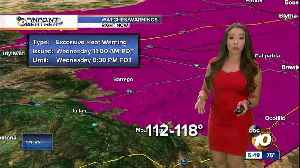 10News Pinpoint Weather with Meteorologist Angelica Campos [Video]