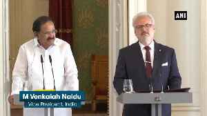 India's growth and Latvia's natural strength complement each other M Venkaiah Naidu [Video]