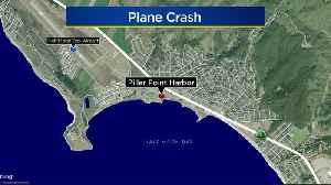 Plane Crashes Into Water Off Pillar Point Harbor In Half Moon Bay Area [Video]