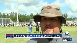 PB Central football gets ready for Atlantic 8/20 [Video]