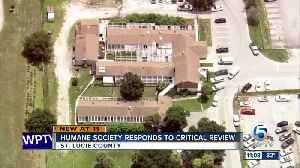 Humane Society of St. Lucie County responds to critical review [Video]
