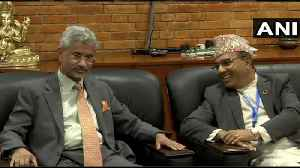 EAM Jaishankar arrives in Nepal for 5th Joint Commission Meeting [Video]