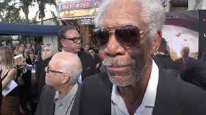 Morgan Freeman says money was the motivation for latest film role [Video]