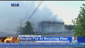 North Andover Recycling Center Fire Burns More Than 12 Hours [Video]