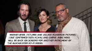 News video: Keanu Reeves confirmed for fourth Matrix movie