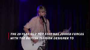 Taylor Swift teams up with Stella McCartney for Lover range [Video]