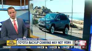 Toyota recalling RAV4 vehicles due to faulty back-up camera system [Video]