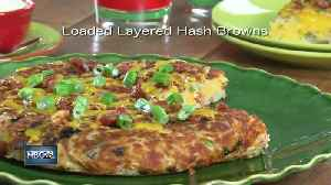 Mr. Food: Loaded Layered Hash Browns [Video]
