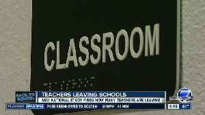 Back to school: Why Colorado teachers leave their schools [Video]