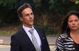 News video: Ryder Cup winner Thorbjorn Olesen arrives for court appearance