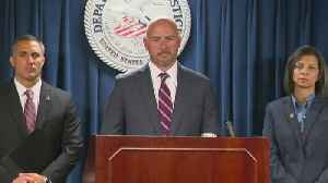 Web Extra: U.S. Attorney On Arrest Of Former Head Of State Police Union. [Video]