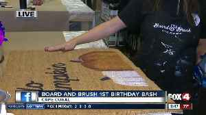 Board and Brush 1st Birthday Bash 08:30 live hit [Video]