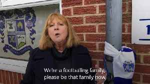 Woman chains herself to stand at Bury FC as club's future threatened [Video]