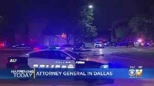 U.S. Attorney General Bill Barr In Dallas To Discuss City's Violent Crime [Video]
