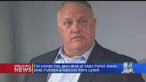 Former Mass. State Police Union President, Lobbyist Arrested On Conspiracy Charges [Video]