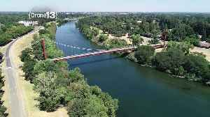 Drone 13: Guy West Bridge in Sacramento [Video]