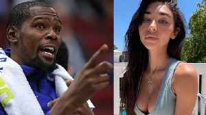 Kevin Durant SHOOTS HIS SHOT At New Teammate Kyrie Irving's Ex Boo Chantel Jeffries! [Video]
