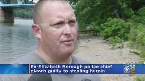 Ex-Police Chief Pleads Guilty To Taking Stolen Drugs [Video]