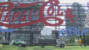 Controversy After Iconic Pepsi Sign Changed [Video]