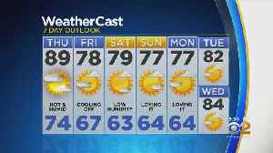 New York Weather: CBS2 8/21 Evening Forecast at 5PM [Video]