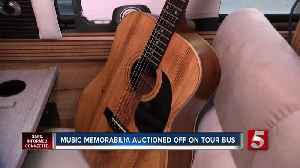 Here's your chance to own items belonging to Elvis, Johnny Cash and Garth Brooks [Video]