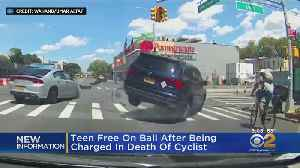 Teen Driver Charged After Fatal Cyclist Accident [Video]